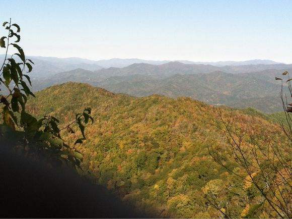 Oct 11, 2012 - Veiw From Wesser Bald